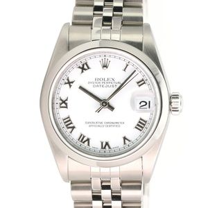 Rolex Lady-Datejust 78240 Steel 31mm White Dial